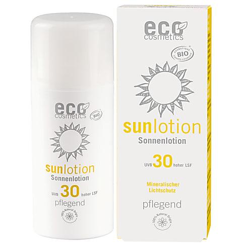 eco cosmetics Sonnenlotion LSF 30 mit Granatapfel + Goji