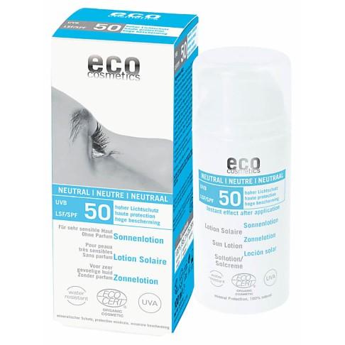 eco cosmetics Sonnenlotion NEUTRAL LSF 50 - Ohne Parfum
