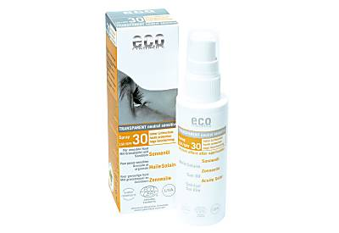 eco cosmetics Sonnenöl Spray LSF30