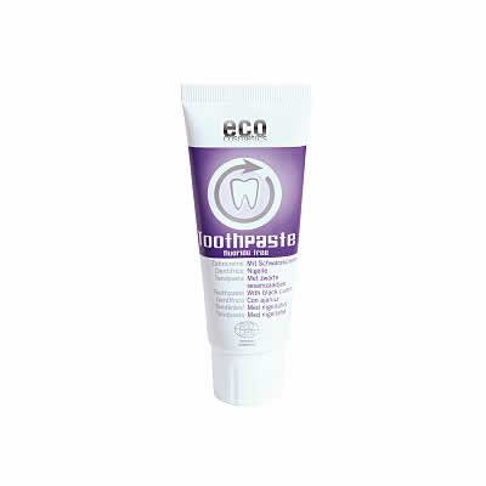 eco cosmetics Zahnpaste mit Schwarzkümmel -  ohne Flour