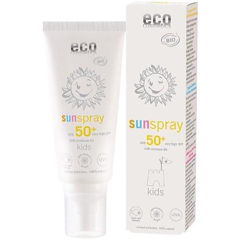 eco cosmetics sunspray LSF 50+ Kids
