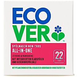 Ecover All in One Spülmaschinentabs - 22 Tabs