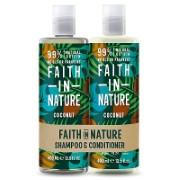 Faith in Nature Coconut Doppelpack Shampoo & Conditioner