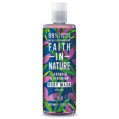 Faith in Nature Lavender & Geranium Duschgel & Schaumbad
