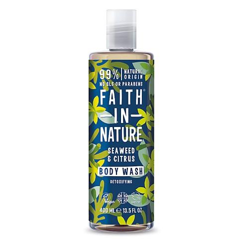 Faith in Nature Seaweed & Citrus Duschgel & Schaumbad