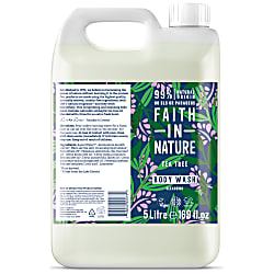 Faith in Nature Tea Tree Duschgel & Schaumbad - 5L