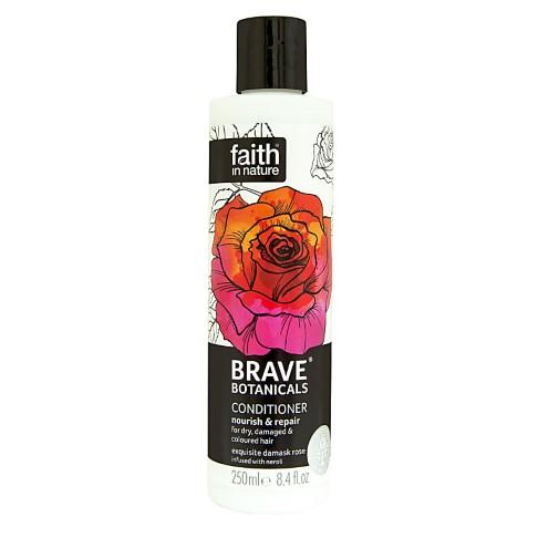 Faith in Nature Brave Botanicals Rose & Neroli Nährende & Aufbauende Spülung