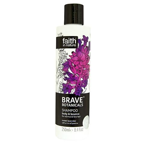 Faith in Nature Brave Botanicals Lavender & Jasmine Volumen & Spannkraft Shampoo
