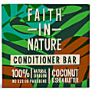 Faith in Nature Coconut & Shea Conditioner Bar - feste Haarspülung