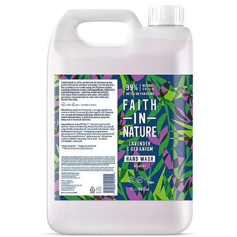 Faith in Nature Lavender & Geranium Handseife - 5L