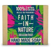 Faith in Nature Hand Made Dragon Fruit Soap - Seifenstück
