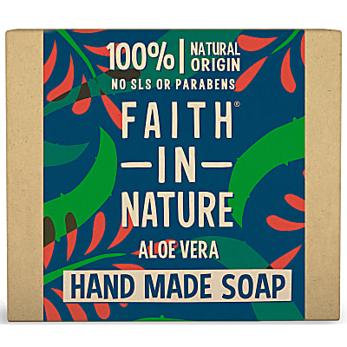 Faith in Nature Natürliches Seifenstück Aloe Vera
