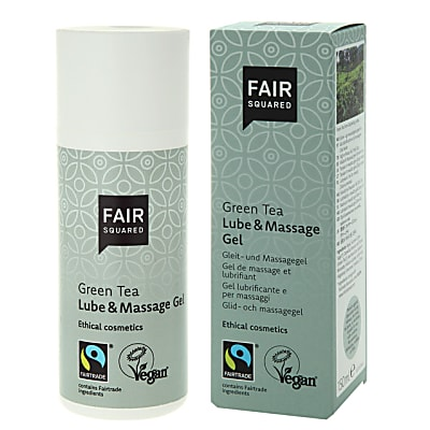 FAIR SQUARED Lube & Massage Gel Green Tea 150 ml