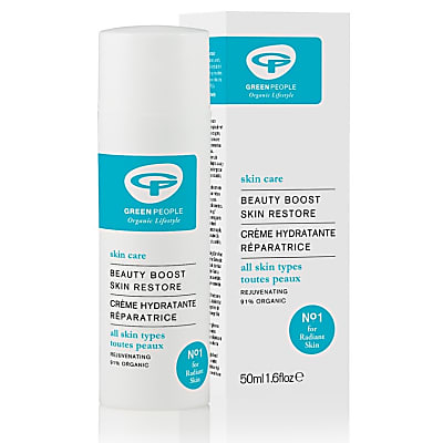 Green People Beauty Boost Skin Restore - Regenerierende Gesichtscreme 50 ml