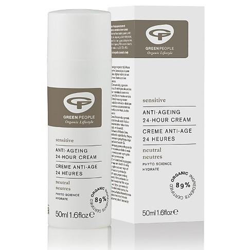 Green People Neutral Scent Free 24hr Cream - 24 Stunden Creme ohne Duft 50 ml