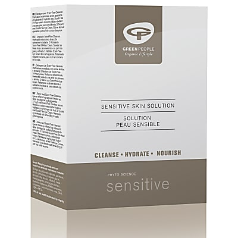 Green People Sensitive Skin Solution - Set für sensible Haut
