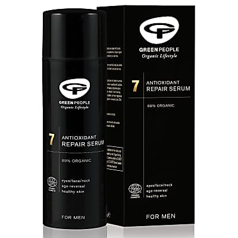 Green People For Men 7 Antioxidant Repair Serum - Reparierendes Gesichtsserum 50 ml