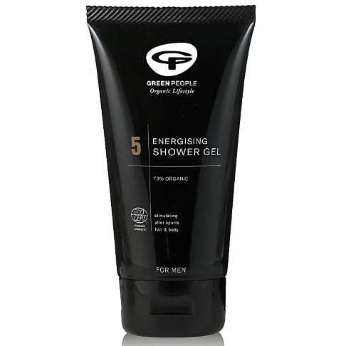 Green People For Men 5 - Energising Shower Gel -  Duschgel 125 ml