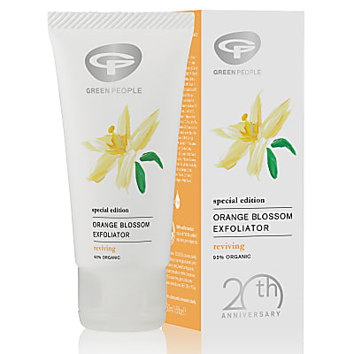 Green People Orange Blossom Exfoliator - Peeling mit Orangenblüten
