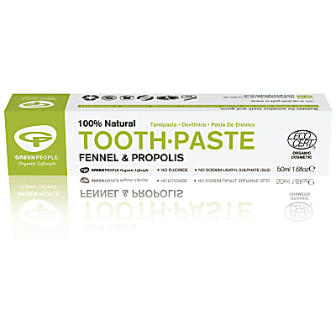 Green People Zahnpasta Fenchel & Propolis - 50ml
