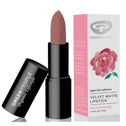 Green People Velvet Matte Lipstick - Lippenstift