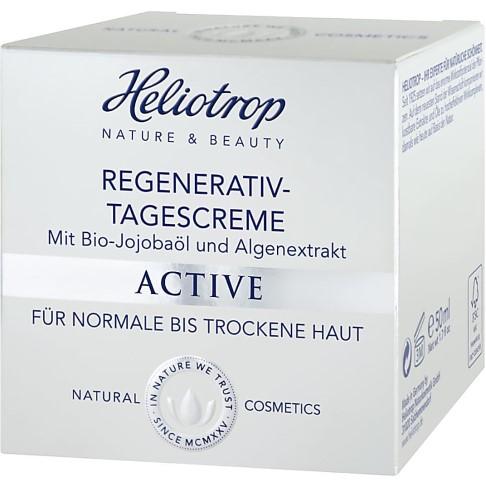 Heliotrop Active Regenerativ-Tagescreme - Mit Bio Jojobaöl und Algenextrakt