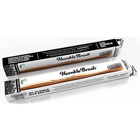 Humble Brush Adults Charcoal - Zahnbürste