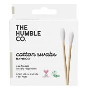 Humble Wattestäbchen aus Bio Baumwolle & Bambus - weiss (100 Stück)