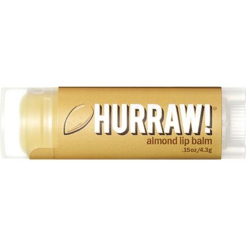Hurraw Almond Lip Balm - Mandel Lippenbalsam
