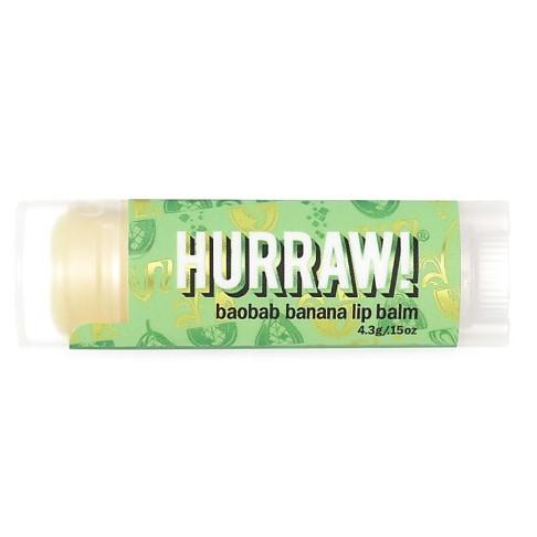 Hurraw Boabab Banana Lip Balm - Banane Lippenbalsam