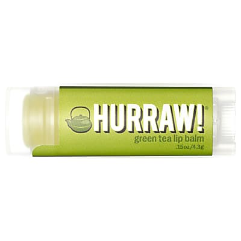 Hurraw Green Tea - Grüner Tee Lippenbalsam