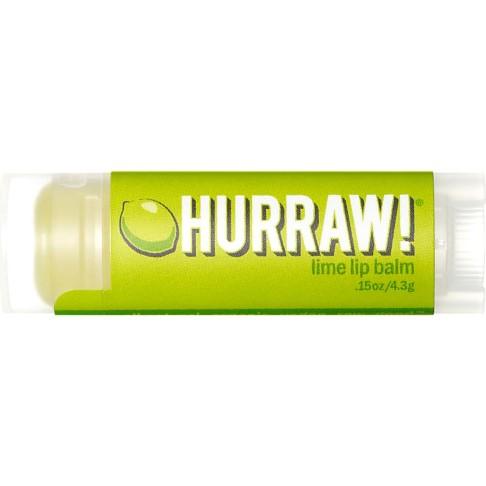 Hurraw Lime Lip Balm - Limetten Lippenbalsam