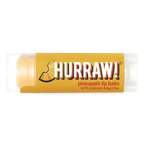 Hurraw Papaya Pineapple Lip Balm - Papaya Ananas Lippenbalsam