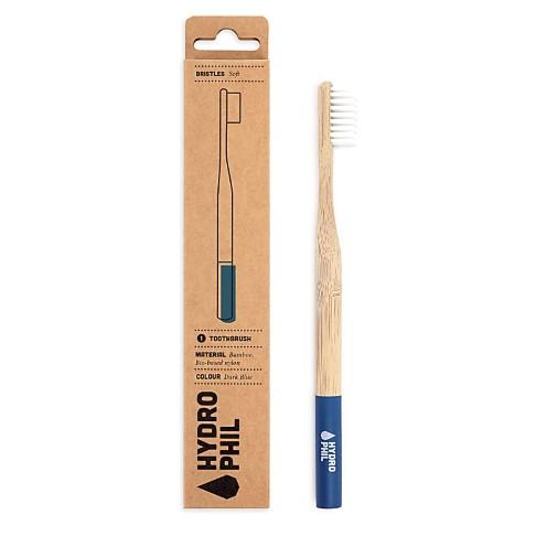 Hydrophil Bambus Zahnbürste Dunkelblau Weich