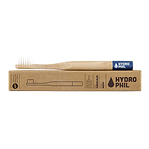 Hydrophil Bambus Zahnbürste Dunkelblau Kind