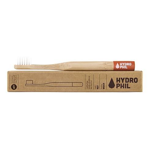 Hydrophil Bambus Zahnbürste Rot Kind
