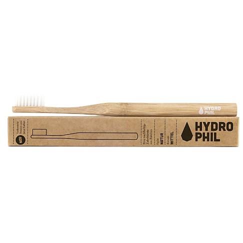 Hydrophil Bambus Zahnbürste Natur Mittelweiche Borsten