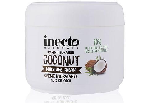 Inecto Pure Nährende Feuchtigskeitscreme mit Kokosöl