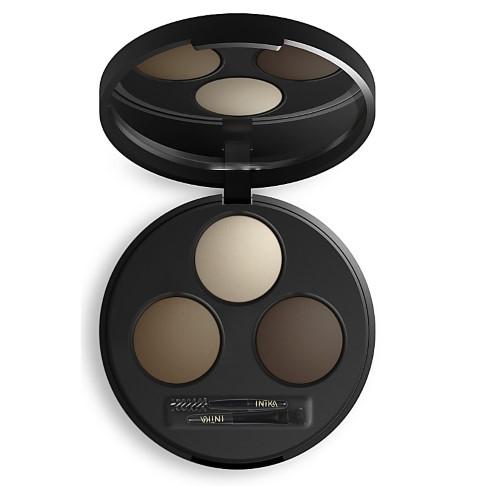 INIKA Brow Define Palette Chestnut - Augenbrauen Palette