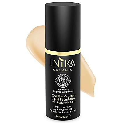 INIKA Certified Organic Liquid Foundation Beige - Foundation mit Hyaluronsäure