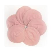 ImseVimse waschbare Stilleinlagen aus Baumwolle - Flower 3 Paar