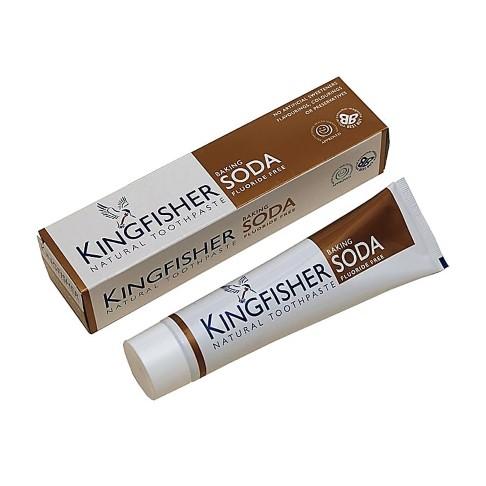 Kingfisher Soda Zahnpasta mit Natron und Minze - Frei von Flouriden
