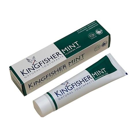 Kingfisher Zahncreme mit Minze - Frei von Fluoriden