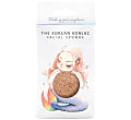 Konjac The Korean Konjac Sponge Red Clay - Konjac Schwamm mit rotem Ton