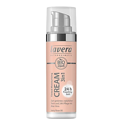 Lavera Tinted Moisturing Cream 3in1 Ivory Rose 00