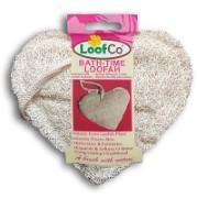 LoofCo Bath-Time Loofah - Luffa in Herzform