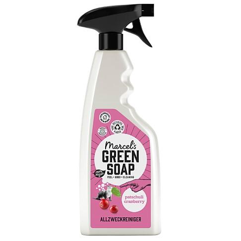 Marcel's Green Soap Allesreiniger Spray Patchouli & Cranberry