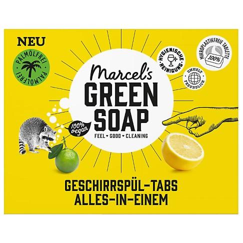 Marcel's Green Soap Spülmaschinentabs Grapefruit & Lime 24 Tabs