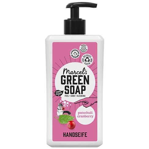 Marcel's Green Soap Handeife Patchouli & Preiselbere 500 ml