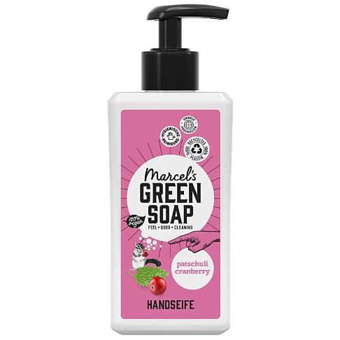 Marcel's Green Soap Handseife Patchouli & Cranberry - Patschuli & Preiselbeere